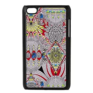 Geometric patterns YT8058779 Phone Back Case Customized Art Print Design Hard Shell Protection Ipod Touch 4
