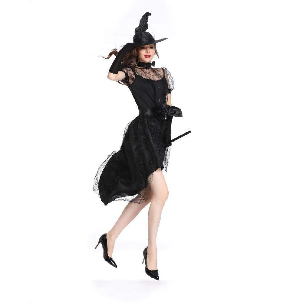 Shisky Cosplay kostüm Damen, Halloween Kostüm Hexe Kostüm Sexy Bühnen-Performance Costume Spiel einheitliche Party Kostüm