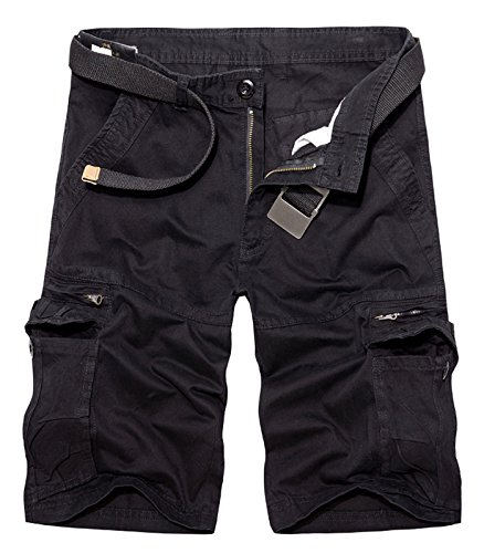 AOYOG Multi Pocket Shorts Casual Cotton