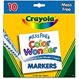 Color Wonder Mess Free Coloring Markers 10-Pack
