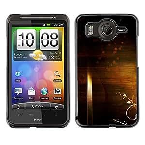 TopCaseStore / la caja del caucho duro de la cubierta de protección de la piel - Art Wallpaper Universe Symbolic Random Infinity - HTC G10