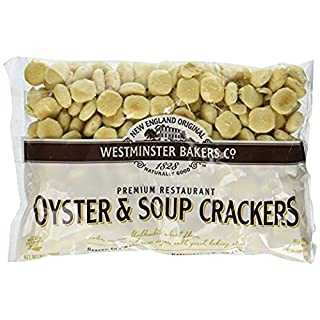 6 pack - New England Westminster Bakeries Oyster Soup Crackers, 9 Ounce each bag