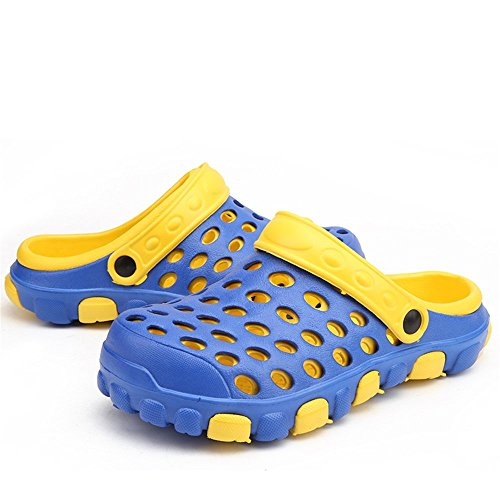 Sandali Ciabatte shoes impermeabili Xujw caviglie Uomo sandali donna EU Dimensione Purple da Blu Ciabatte Color piatto piatte da su tacco spiaggia e con 2018 da uomo e 40 da qEwdBBX