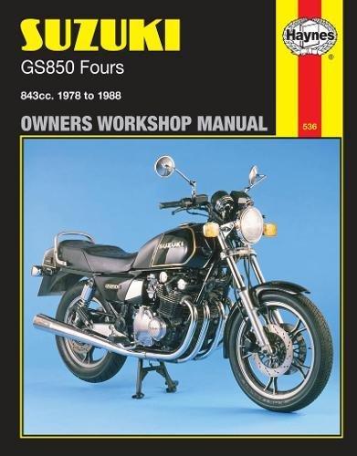 Suzuki GS850 fours(Owners' Workshop Manual)