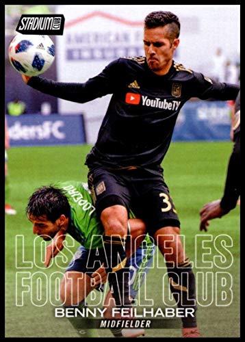 2018 Stadium Club MLS #44 Benny Feilhaber Los Angeles Football Club