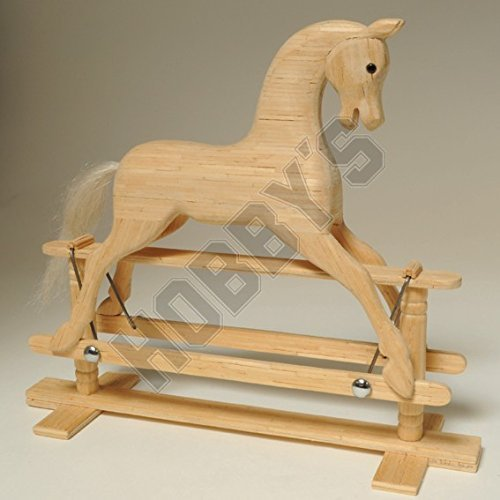 Rocking Kit Cheval Miniature Matchstick Modèle Craft par Hobby de