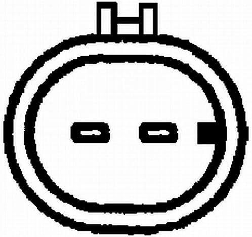 Hella 6pu 009 163 671 Impulsgeber Kurbelwelle 12v 2 Polig Ohne Kabel Auto