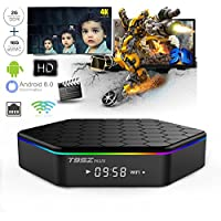 WISEWO T95Z PLUS Android 7.1 TV Box Amlogic S912 Qcta-Core CPU Dual Band Wifi Support Bluetooth 4.0 UHD 4K2K 3D Smart Mini PC Set Top Box Media Player