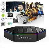 WISEWO T95Z PLUS Android 7.1 TV Box Amlogic S912 Qcta-Core CPU Dual Band Wifi Support Bluetooth 4.0 UHD 4K2K 3D Smart Mini PC Set Top Box Media Player