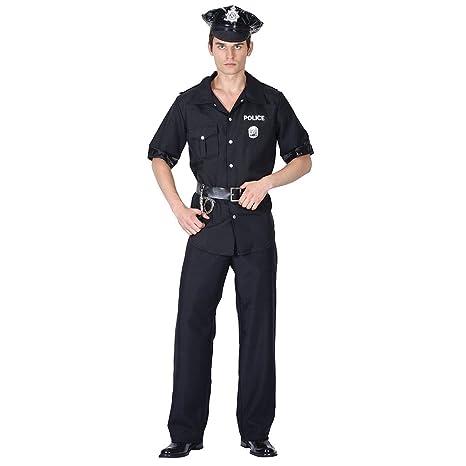 9387f825ce Bristol Novelty AC839 Costume da Poliziotto Americano, M: Amazon.it ...