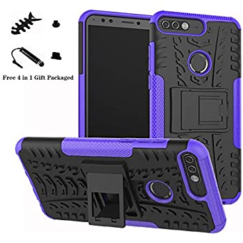 Amazon.com: Huawei Y7 Prime Case, SsHhUu Shock Proof Cover ...