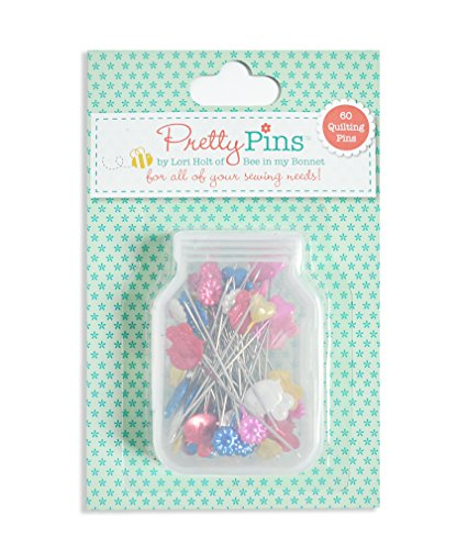 (Riley Blake Designs Pretty Quilting Pins by Lori Holt of Bee in my Bonnet )