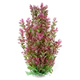 46cm Rhodo Green Plastic Water Plant for Aquarium Fish Tank Ornament Decoration