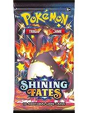 Haumax Pokémon Shining Fates Booster Pack English SWSH 4,5 Pre Order förbeställning – Pokémon Glänsande öde