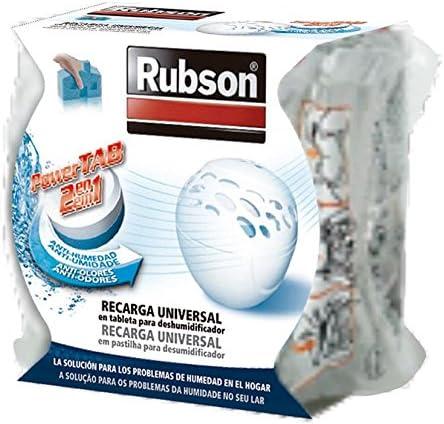 Blanco Rubson Compact Deshumidificador Aparato