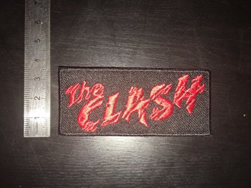 THE CLASH THERMOCOLLANT ECUSSON PATCHES AUFNAHER TOPPA