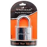 Kingman Padlock, Stainless Steel Lock, 2 in. Wide, 50 mm - 2 Pack