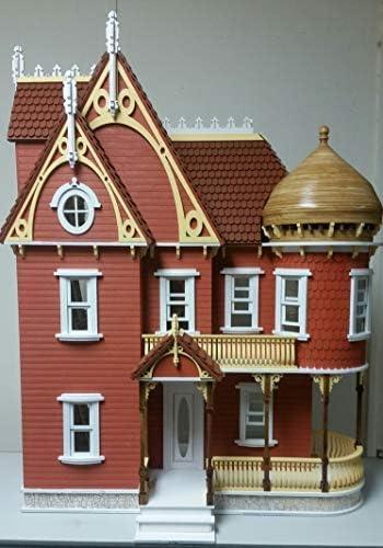 1:12  Scale  Dollhouse Miniature Victorian Corner Brackets