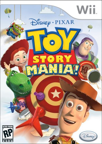 Toy Story Mania! - Nintendo Wii by Disney Interactive Studios