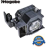 For ELP LP33 Compatible Projector Lamp with Housing for V13H010L33 MovieMate 30s; PowerLite S3; PowerLite Home 20; EMP-S3 EMP-S3L EMP-TW20 EMP-TW20H EMP-TWD1 EMP-TWD3 by Mogobe