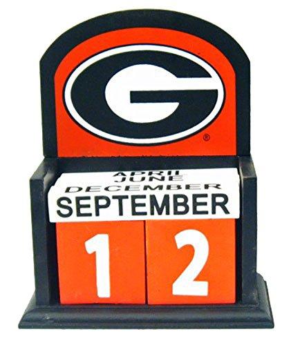 [University of Georgia Perpetual Calendar] (Georgia Bulldogs Perpetual Calendar)