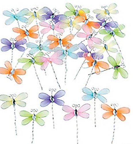- Nylon Dragonflies, Craft Supplies, Decorating, Jewelry Making (36)