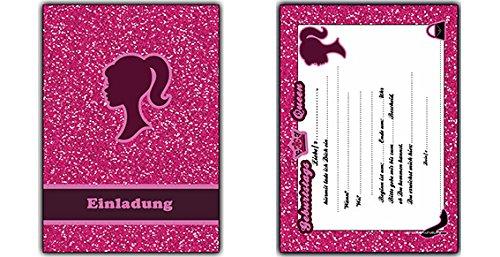 Außergewöhnlich Einladungskarten Kindergeburtstag Mädchen Einladungen Geburtstag &XG_26