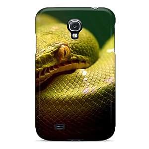 Cute Tpu HHaroldshon A Green Snake Case Cover For Galaxy S4