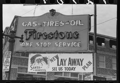 Photo: Sign on service - In Shopping Waco Texas
