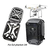 Drone Backpack,HP95(TM) Waterproof Hardshell CarryinG Case Shoulder Bag Protector for DJI Phantom 3 & 4