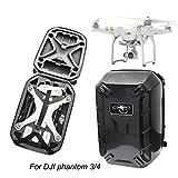 Drone Backpack,HP95(TM) Waterproof Hardshell CarryinG Case Shoulder Bag Protector for DJI Phantom 3 & 4