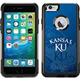 Coveroo Commuter Series Case for iPhone 6 Plus - Retail Packaging - University of Kansas Watermark