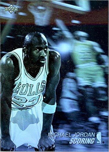 (1991-92 Upper Deck Award Winner Holograms #AW1 Michael Jordan Scoring Leader - Chicago Bulls)