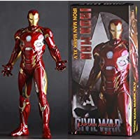 Anokhe Collections Marvel Exclusive 1:6 Scale Iron Man Mark Collectible Statue 45-inch/ 28cm (Multicolour)