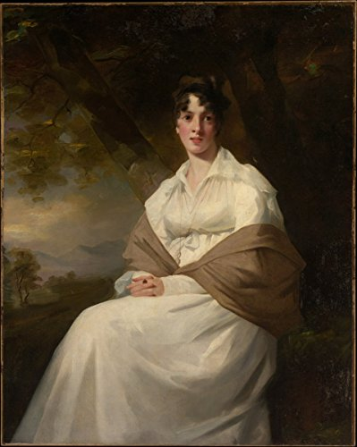 Historic Pictoric Fine Art Print | Sir Henry Raeburn | Lady Maitland (Catherine Connor, Died 1865) | Vintage Wall Art | 16in x 20in ()