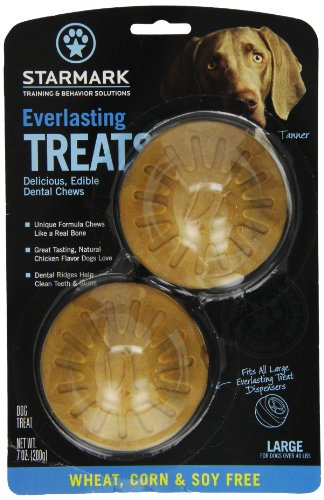 StarMark Everlasting Treat, Wheat, Corn and Soy Free, Large ()