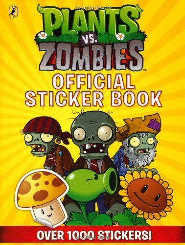 Plants vs. Zombies Official Sticker Book by Author (2013) Paperback