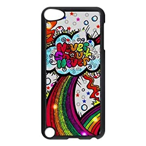 Fashion Never Shout Never Hard Snap-On Plastic Cover Case for iPod Touch 5th Generation 5G 5