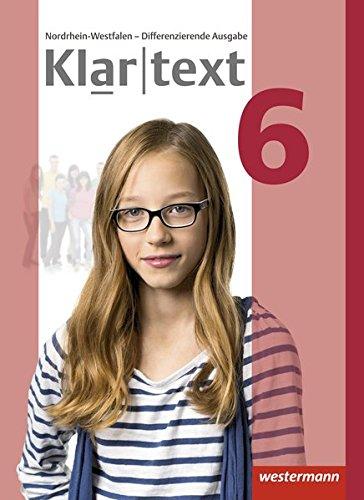 Klartext - Differenzierende Ausgabe 2014 für Nordrhein-Westfalen: Schülerband 6