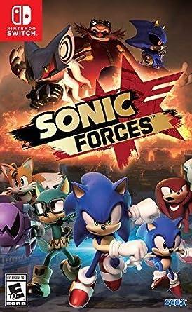 Amazon Com Sonic Forces Standard Edition Nintendo Switch Sega Of America Inc Video Games