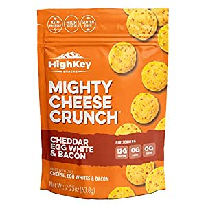 Amazon.com: Parmesan Cheddar & Everything Bagel Cheese Crisps - Low Carb, Gluten Free, High
