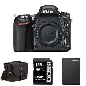 Nikon D750 FX-Format DSLR Camera Body Deluxe Bundle