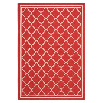 Cheap  Safavieh Courtyard Collection CY6918-248 Red and Bone Indoor/ Outdoor Area Rug (2'..