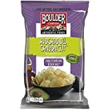 Boulder Canyon Avocado Oil Canyon Cut Kettle Cooked Potato Chips, Malt Vinegar and Sea Salt, 5.25 Ounce (Pack of 12)
