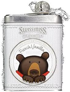 Swiss Miss Hot Cocoa Mix French Vanilla Holiday Bear Tin