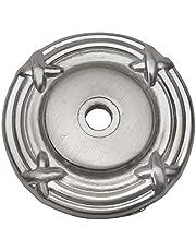 Cosmas 9468SN Satin Nickel Cabinet Hardware Knob Backplate / Back Plate - 25 Pack