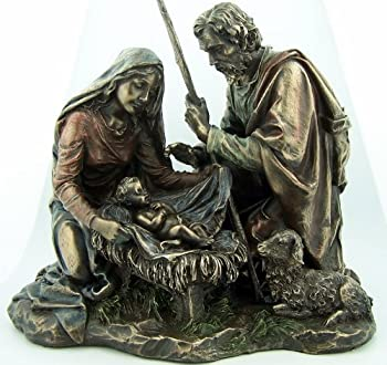 Religious Gifts 6129516 Bronze Manger