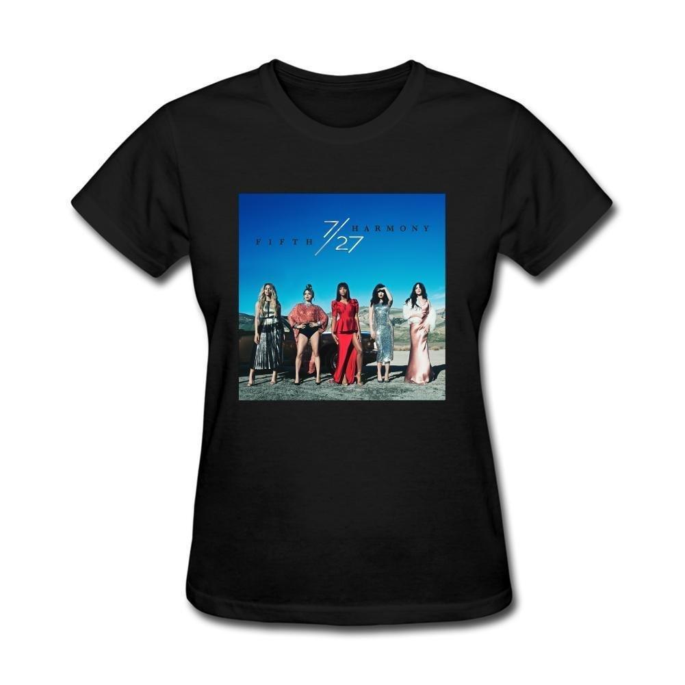 XIULUAN Women's Fifth Harmony Pop 7 27 2016 T-Shirt Short Sleeve