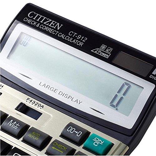 12-Digits Solar Battery Dual Two Way Power Large Display Standard Office Desktop Store School Calculators …