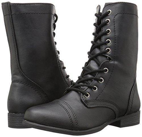 Sothis Mujer Militares Negro para Topline Botas BdzqwHH
